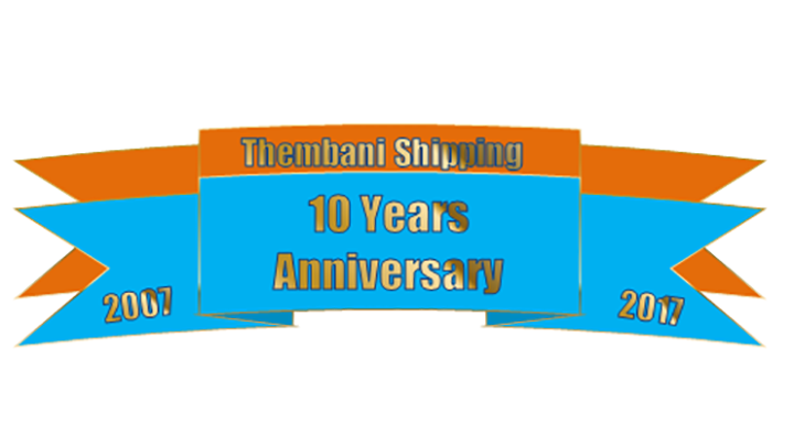 Thembani Shipping – Celebrating 10 Years of Success